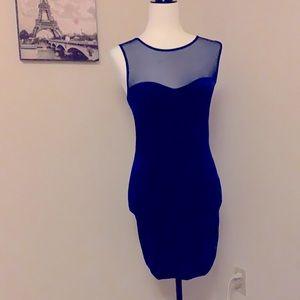 GARAGE | velvet body con dress
